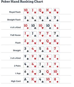 สอนการเล่น poker